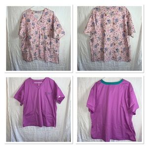 Scrub tops 3xl